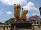 Golden Lion Denkmal, Sihanoukville